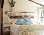 ایده های ارزان برای تاج های بالای تخت