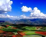 مزرعه دونگ چوآن، پالت رنگ خداوند +عکس