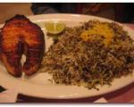 سبزی پلو با ماهی ویژه، مخصوص شب عید