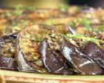 طرز تهیه ی ترشی بادمجان شكم پر