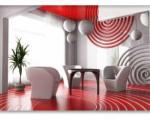 پیشنهاداتی برای استفاده از رنگ قرمزدر منزلتان