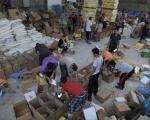 توزیع کمک های غذایی ایران در غزه (+عکس)