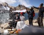 عروسی در ارتفاعات سبلان+عکس