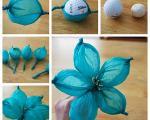 آموزش تصویری ساخت گل های کاغذی