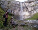 زنده شدن آبشاری بعد از 200 سال + تصاویر
