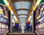 تزئینِ امپرسیونیست قطار عمومی پاریس