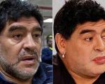 چهره جدید «مارادونا» بعد از جراحی زیبایی(+تصاویر)