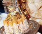 اسپرینگ رول کرم پنیر با آناناس