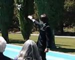 پای پهپادها به مراسم عروسی هم باز شد!