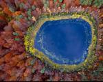 مناظر دیدنی و زیبا از دریاچه ای در لهستان