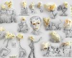نقاشی های تركیبی جالب و خلاقانه