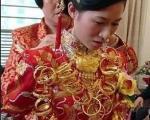عروس خانم طلایی! +عکس