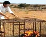 زندان و شلاق برای زنده سوزاندن یک روباه (+عکس)