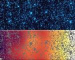 تصاویری از نخستین اجسام کیهانی پس از انفجار بزرگ