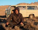 محسن تنابنده در سرمای دلیجان+عکس