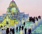 برپایی شهری یخی در مسکو