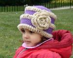 کلاه های بافتنی بچه گانه سری چهارم