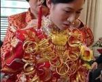عروس طلایی!+ تصاویر