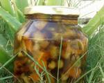 طرز تهیه ترشی قارچ