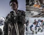 مسابقات اسکی در افغانستان، متفاوت با همه جای جهان؛ ببینید