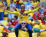 یک کشته در جشن پیروزی کلمبیا برابر اروگوئه