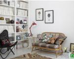 ۹ ایده دکوراسیونی برای سرزندگی فضاهای سفید