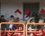 درگیری خونین در یک مسابقه فوتبال(+تصاویر)