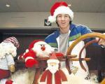 وقتی مسی بابانوئل می شود ؛ عکس