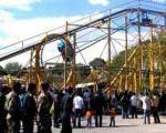 مصدومیت شدید سه دختر در پارک ارم