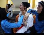 عکس: اشک دختران ایران را در مصر درآوردند