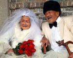 عروس و دامادهای پیر سر سفره عقد!