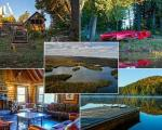 فروش سرزمینی ۷۹ میلیون دلاری در کبک کانادا با ۵ جزیره، ۱۳ کلبه و ۷۰ دریاچه