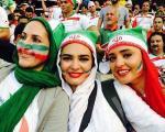 تصاویر جدید بازیگران زن ایران در استادیوم
