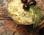 سالاد شوید و سیب زمینی