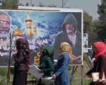 نصب تصاویر شهدای سپاه در خیابان های بغداد (+عکس)