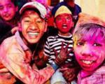 جشنواره رنگ ها در هند 16 قربانی گرفت