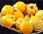 تزئین پرتقال