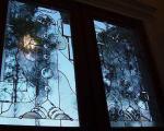 پنجره ی رنگی برای داشتن دکوراسیون زیبا