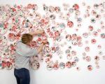هنر موزاییک، با بشقاب های تزیینی