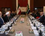 روحانی : دوستان صمیمی دوران تحریم را از یاد نمیبریم/ آفریقای جنوبی می تواند یكی از مهمترین شركای تجاری ایران شود