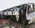 ۱۳ کشته یا زخمی در محورسیرجان - بندرعباس