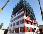 ساخت ساختمان 10 طبقه در 48 ساعت!
