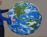 کره زمین چوب کبریتی +عکس