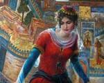 آهو نور زن هنرمند ایرانی