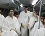 مجتبی جباری و خسرو حیدری در لباس احرام(+عکس)