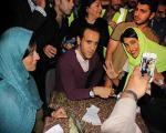 پوری بنایی، مهتاب کرامتی و علی کریمی در جشن گلریزان یک محکوم به اعدام+عکس