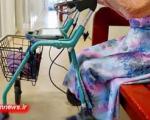 نزاع دلهره آور پیرزن 101 ساله با دزد!