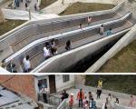 عجیبترین پله برقیهای دنیا + تصاویر