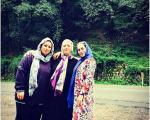 بازیگر معروف همراه با مادرش در ماسوله+عکس