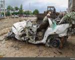 وقتی کشتهشدگان سیل زنده میشوند!/ نجات مسافران یک اتوبوس از سیلاب